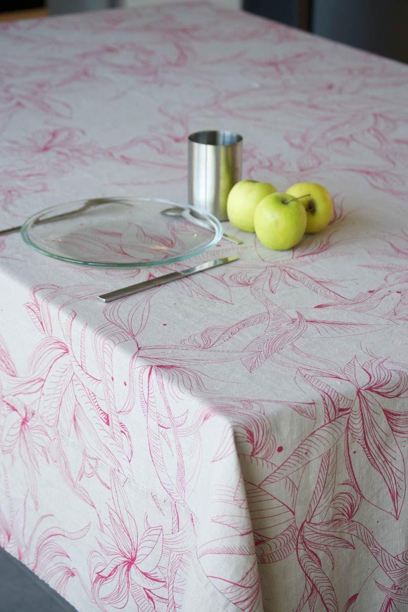 linge de lit marcelise Marcelise Nappe en Lin Ondine Taupe Rose | Table linen | Pinterest linge de lit marcelise