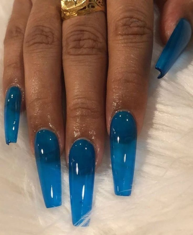 Coffin colors jelly nails short nails coffin nails