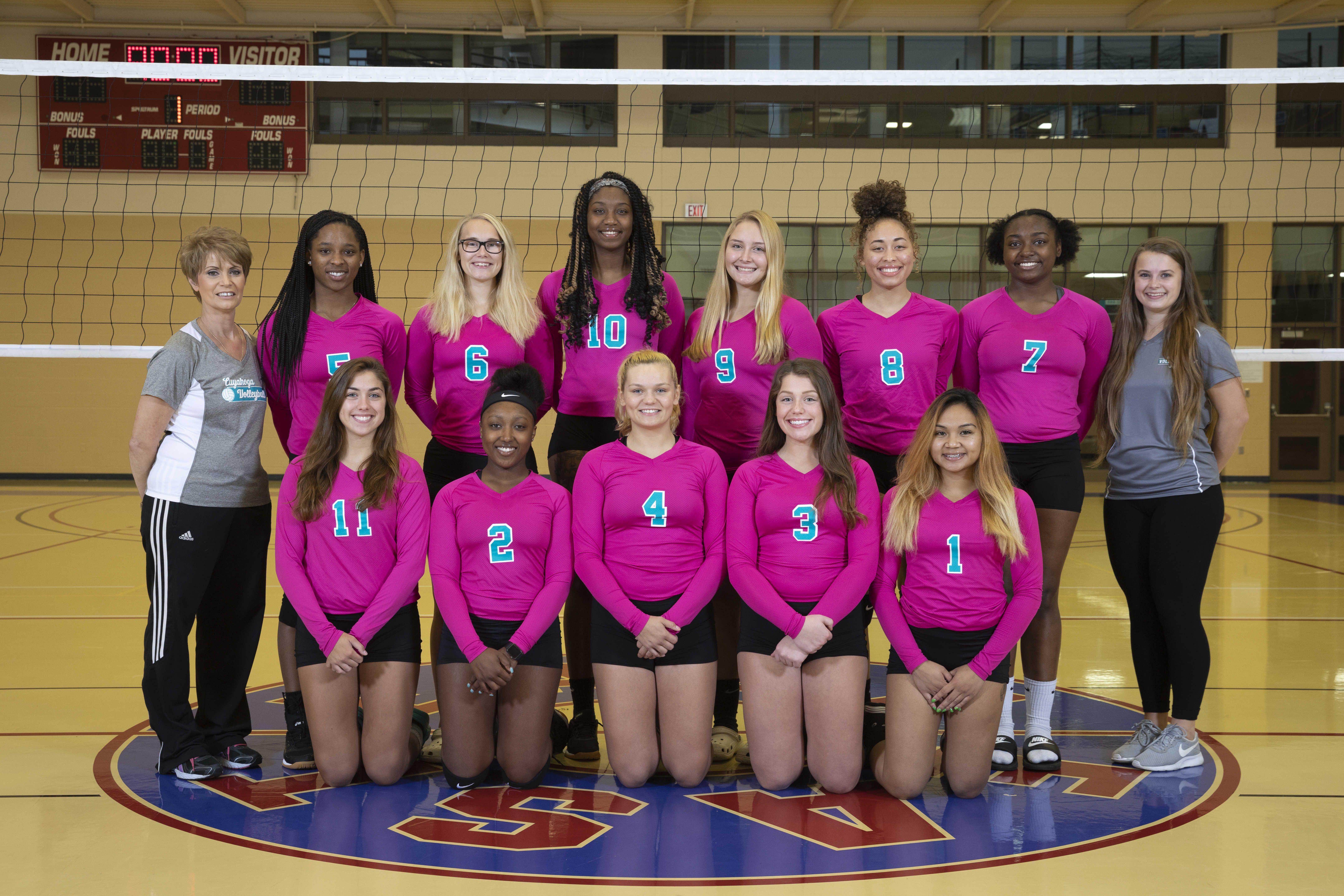 Tri C Women S 2018 Volleyball Team Women Volleyball Volleyball Volleyball Team