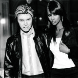 David Bowie and Iman, Tommy Hilfiger Campaign, 2003 | W Magazine