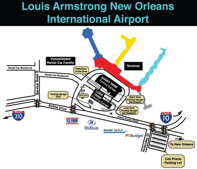 louis armstrong new orleans international airport parking rh pinterest com new orleans airport parking reservations new orleans airport parking reservations