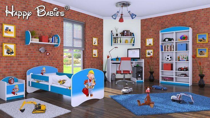 """6teiliges Set Jugendzimmer Kinderzimmer Set """"Bob der"""