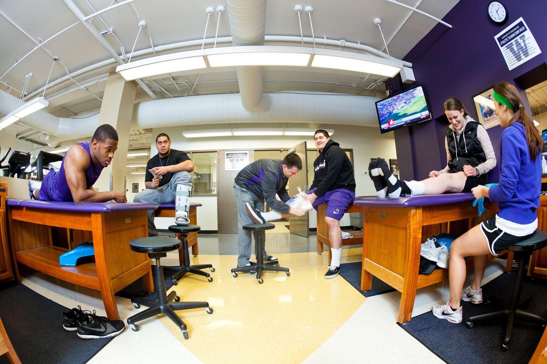 UW Athletics Training Room Athletic training, Certified