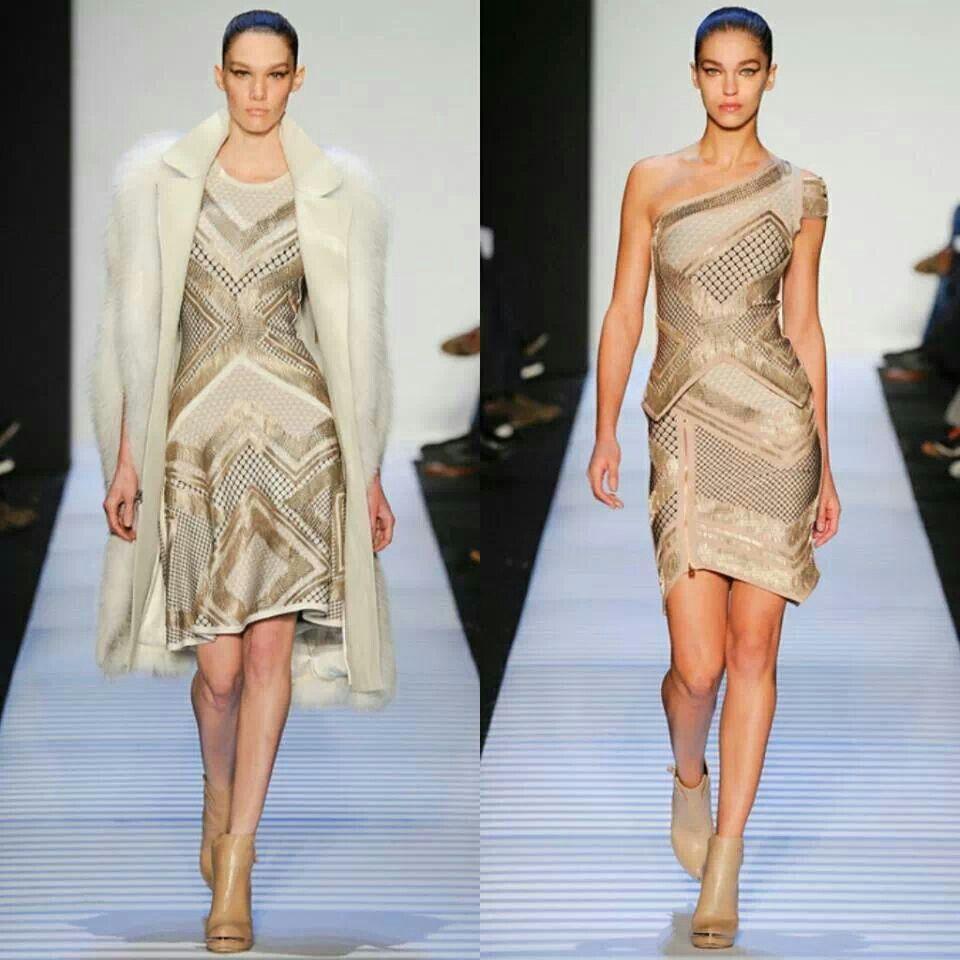 #Desfile #HervéLéger #Otoño #Invierno #NY #FashionWeek