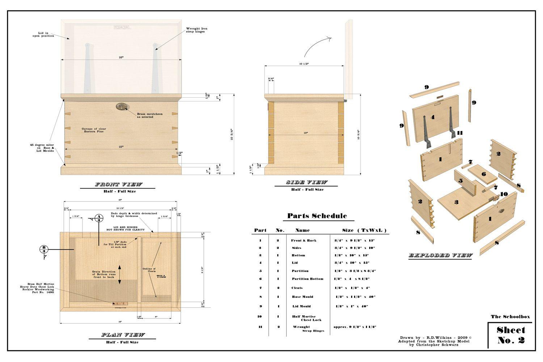 furniture working drawings Sketch up Interior design