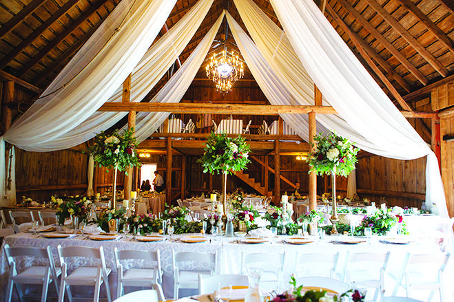 Rustic Meets Romance The Best Barn Wedding Venues in