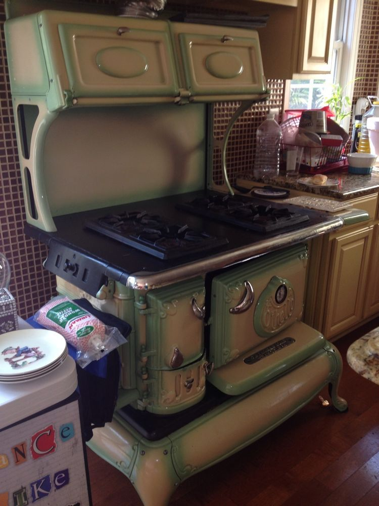 Othello Coalwood Stove Converted To Propane Fully Functional