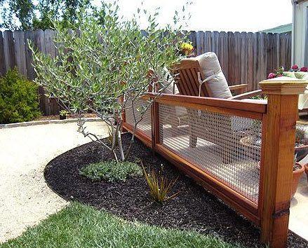 Metal Wire Mesh Garden Fence M22 22 BANKER WIRE