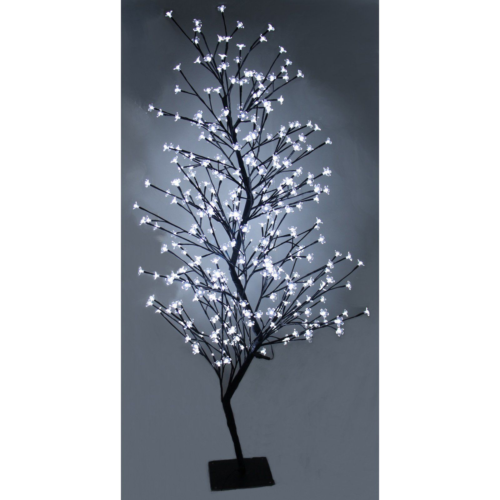 Hi Line Gift Ltd Outdoor Cherry Blossom Tree With Dual Color White And Warm White Outdoor Christmas Lights Blossom Trees Cherry Blossom Tree