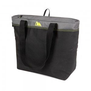 NEW-45 Can Eco Blend Freezer Tote - GrayYellow