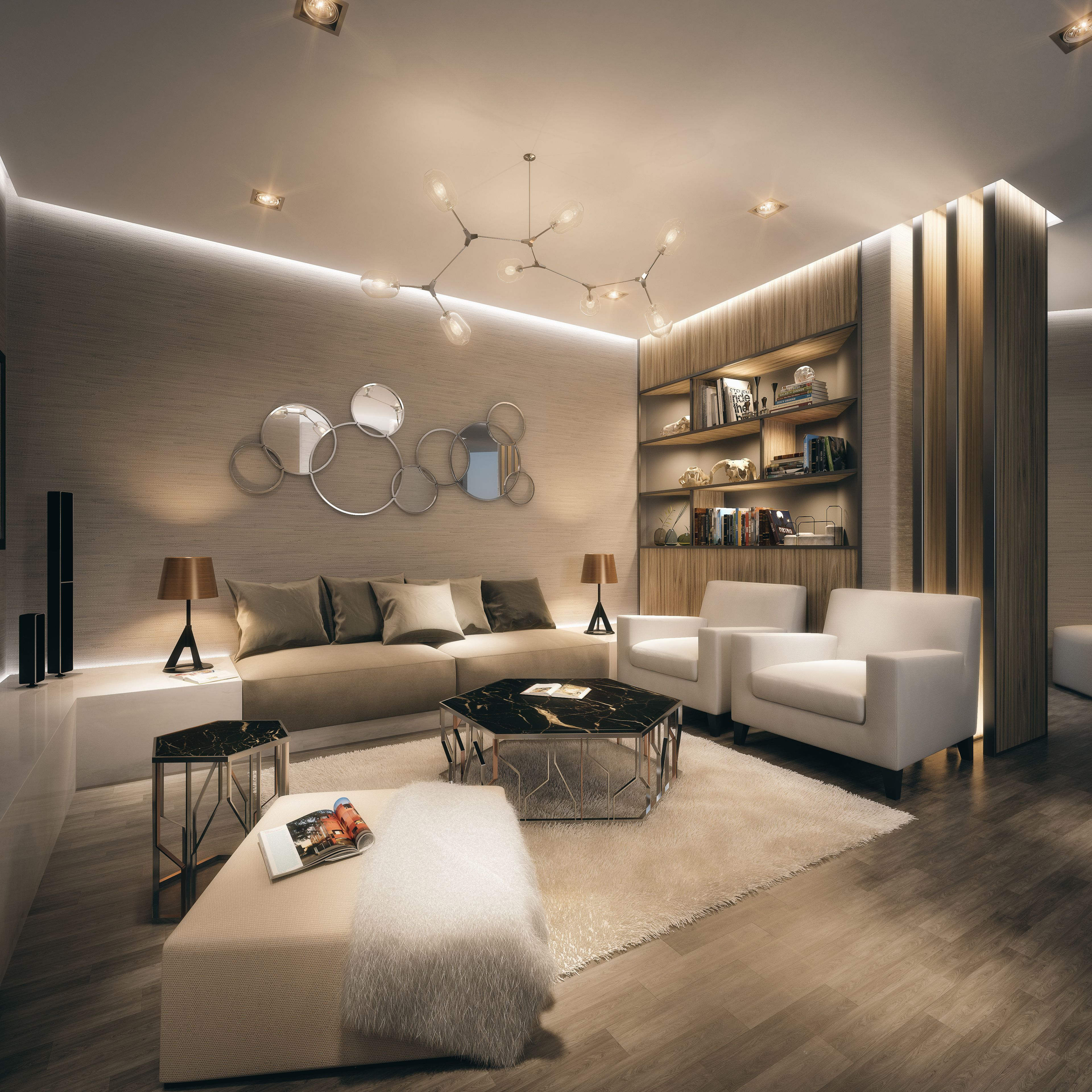 51 Modern Living Room Design From Talented Architects: Private Luxury Apartments Complex In Western Africa. Full