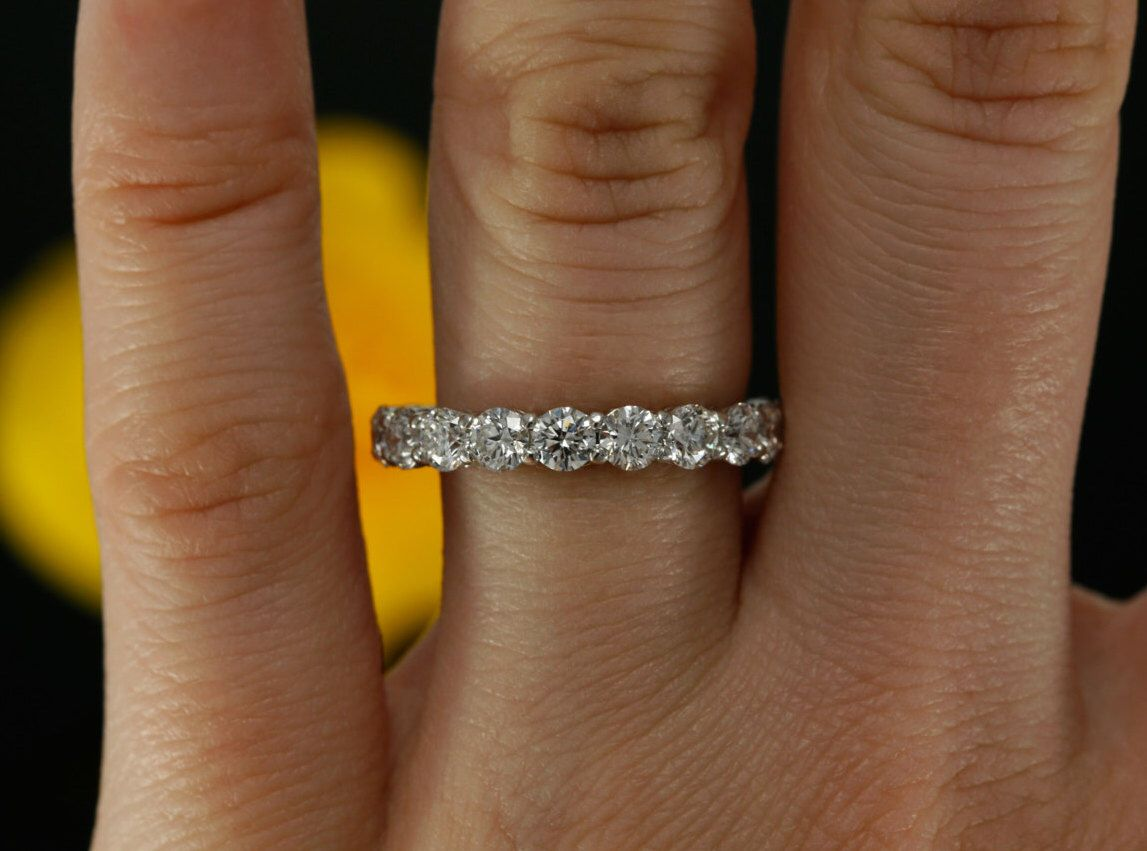 floating bands asha simulated with eternity band diamonds categories betterthandiamond com forever timeless half