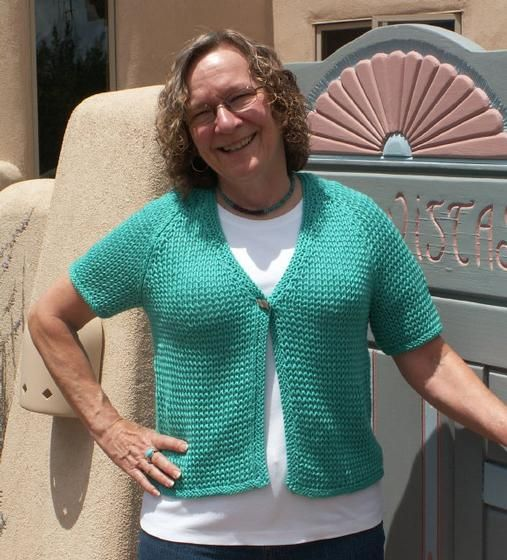 Easy Breezy Short Sleeve Cardigan Knitting I Love Pinterest