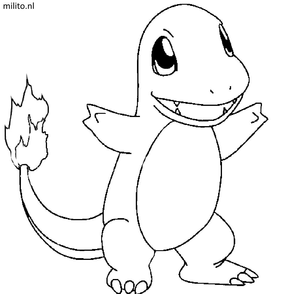 pokemon coloring pages charmander Pokemons Kleurplaten Charmander | olivinum.| Pokemon coloring  pokemon coloring pages charmander