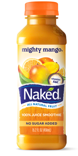 Naked Juice mighty mango smoothie is so delish!!!! 100