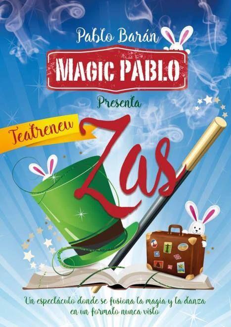ZAS!, el show de magia de Magic Pablo en Barcelona http://danzateatro.es/zas-el-show-de-magia-de-magic-pablo-en-barcelona-que-enamora/