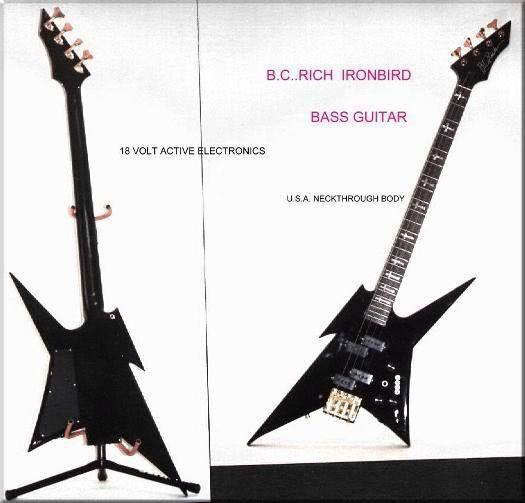 Nj ironbird bc rich Musical Instruments