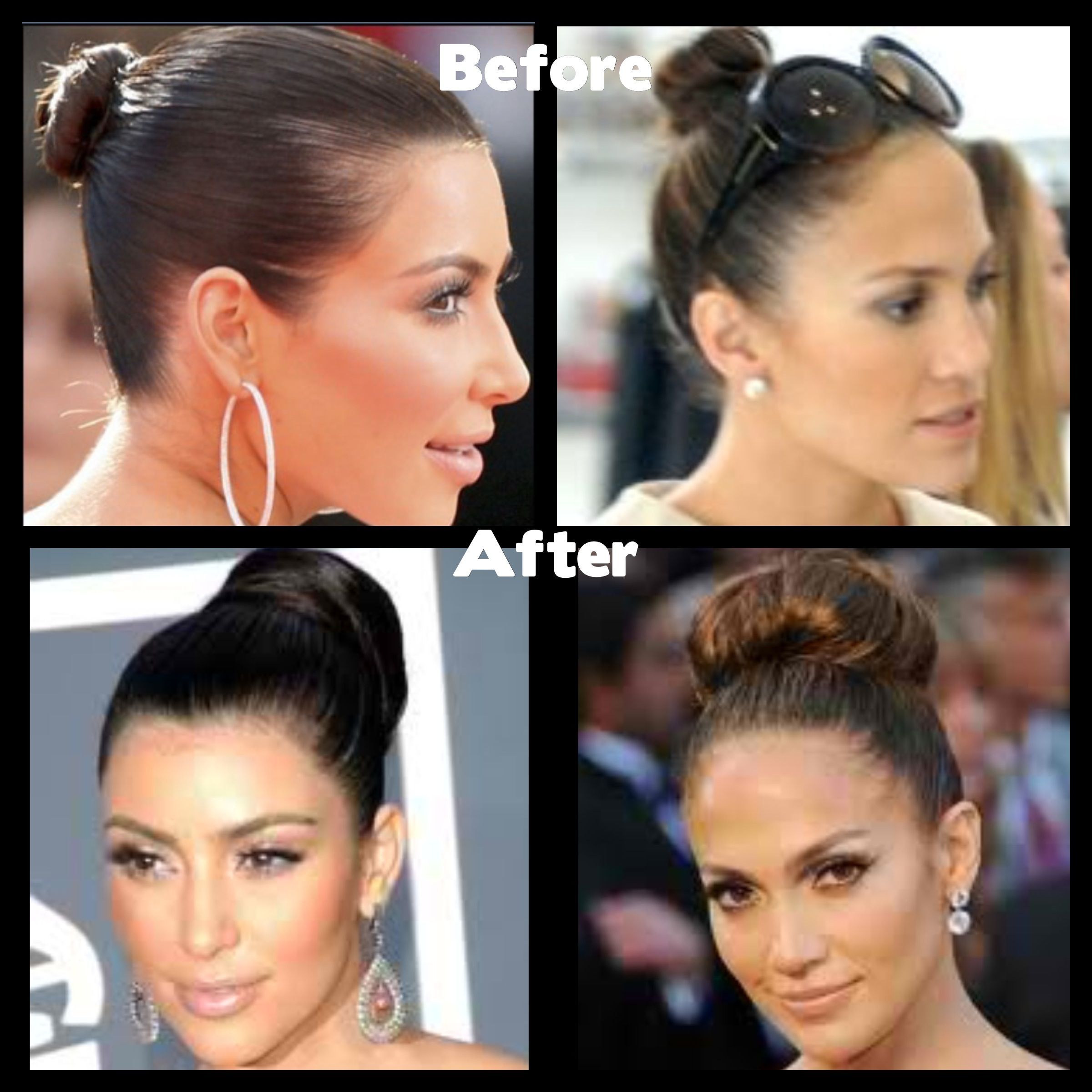 How To Make A Sock Bun With Hair Extensions Drive