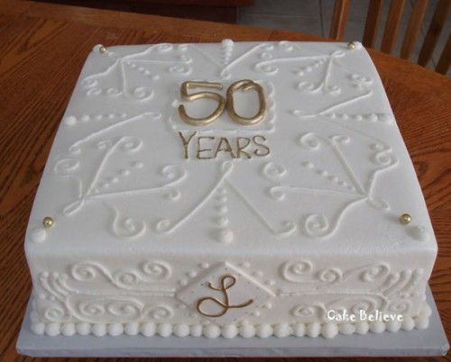 images of 50th wedding cakes | ... Cake Designs http://www ...