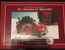St. Nicholas Square The Village Collection-Christmas Tradition