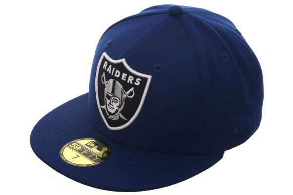 Hat Club Original New Era 59Fifty Oakland Raiders Fitted Hat - Royal ... a8e0c8e0d7c