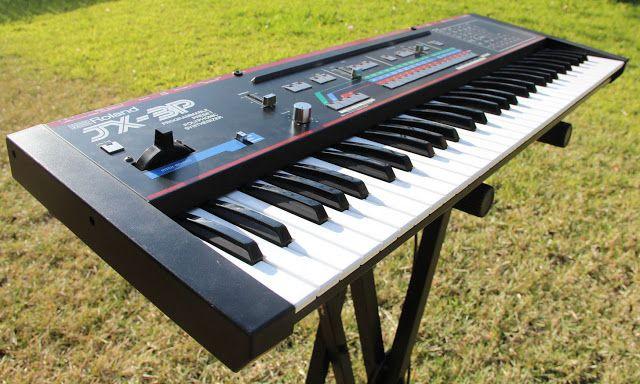 MATRIXSYNTH: Roland JX-3P Programmable Polyphonic Analog Synthe...