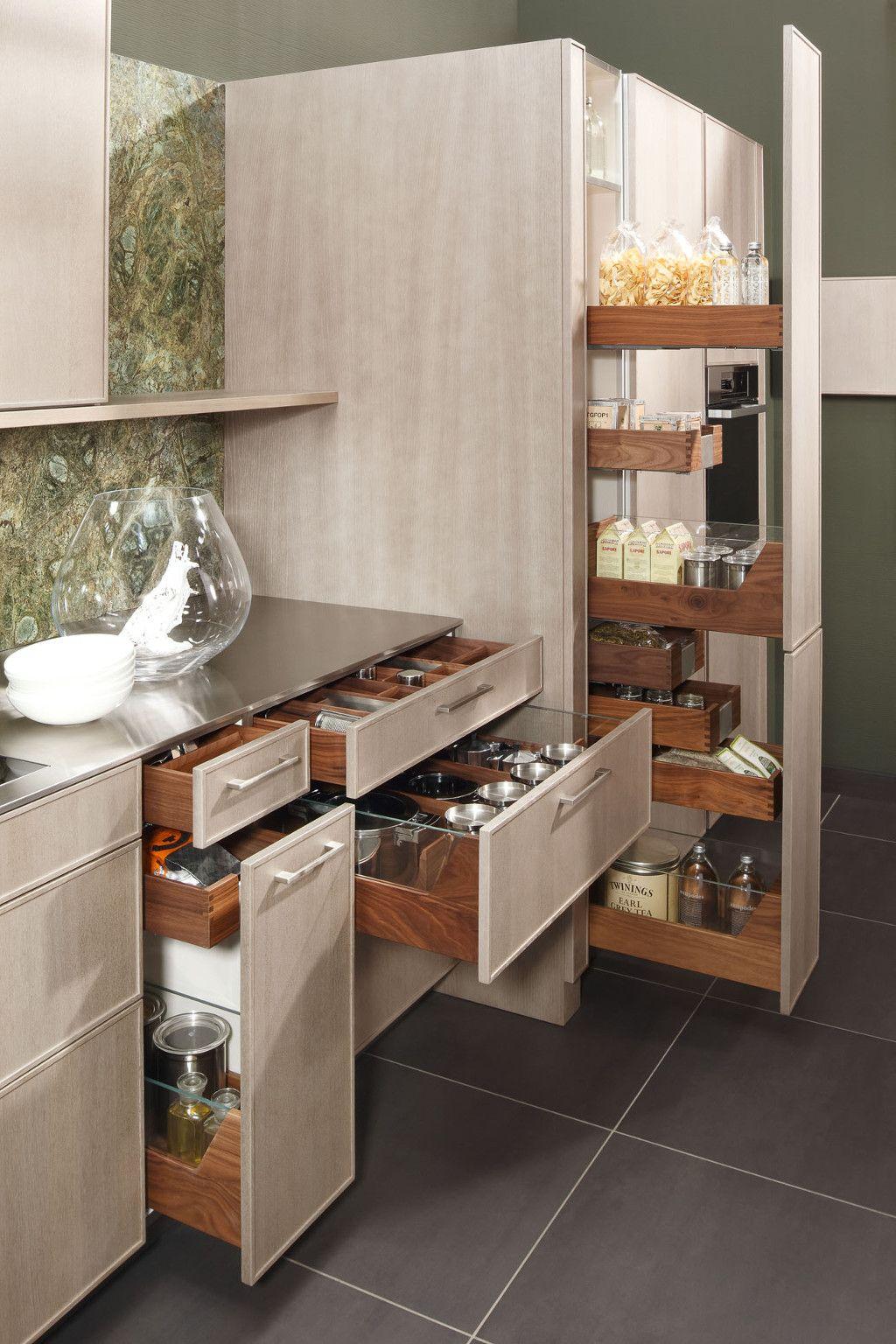 Opbergruimte keuken bron zeyko kleine keuken pinterest kleine keuken keuken en zoeken - Keukenkast outs ...