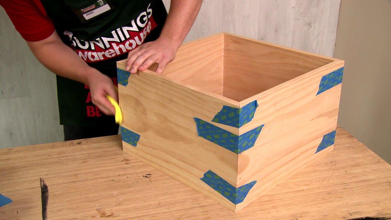 D I Y Shadow Box Frame D I Y At Bunnings Box Frames Shadow Box Frames Shadow Box