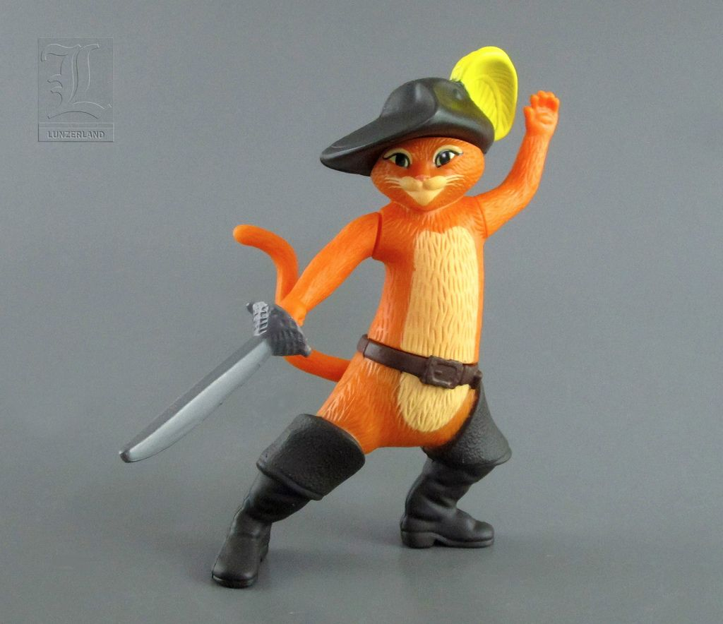 dreamworks puss in boots toys | mcdonald's puss in boots - puss in