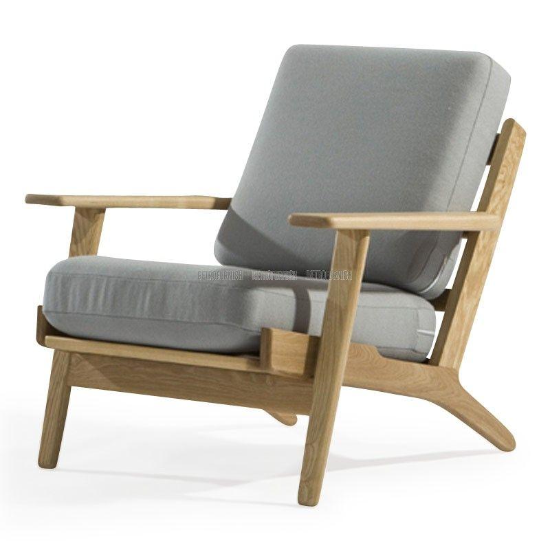 Namaak Design Stoelen.Ge 290 Fauteuil Geinspireerd Door Hans J Wegner Replica Design