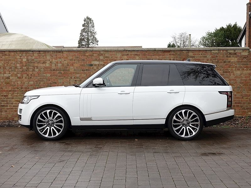 Range Rover 5.0 Supercharged Autobiography Used land
