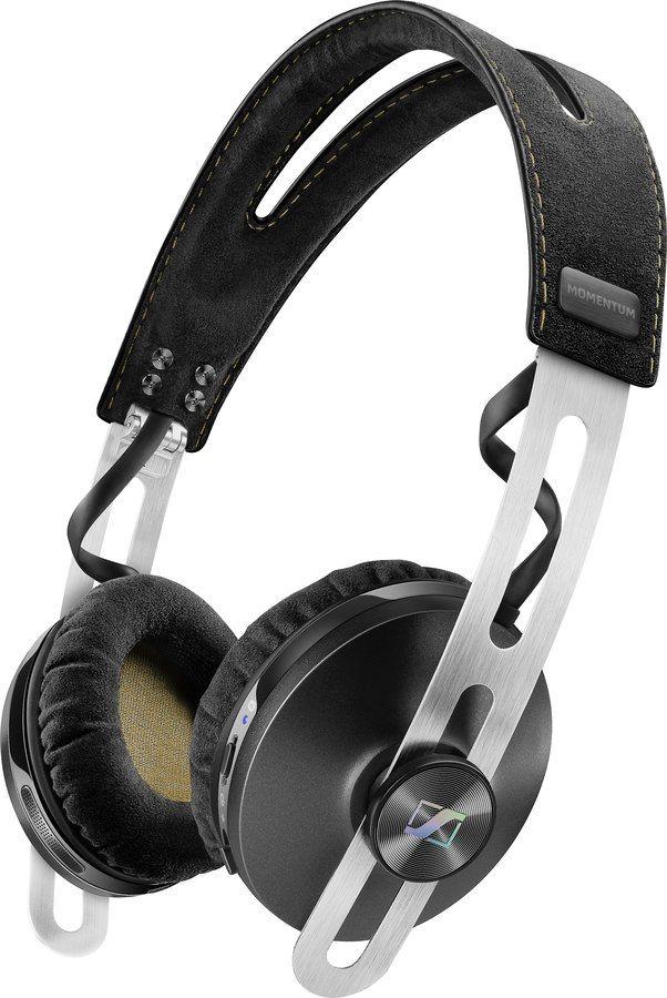 Sennheiser Momentum 2 0 Wireless Black Take The Mini Mo 2 0 On The Go Fold The Momentum On Ear Wireless Headphones Sennheiser Headphones Sennheiser Momentum
