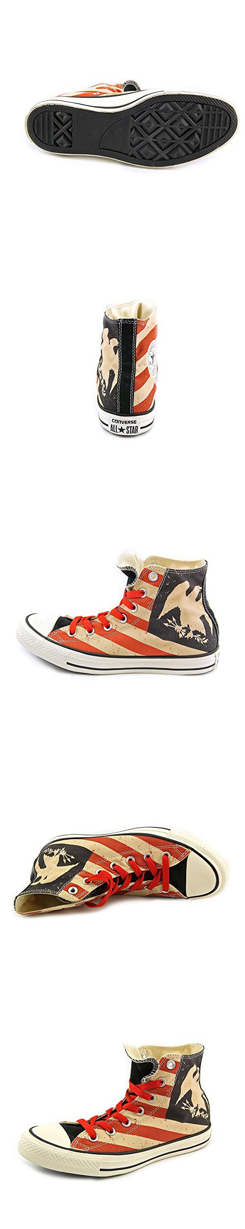 Converse Chuck Taylor All Star Hi Men's Sneakers Shoes Red Size 7