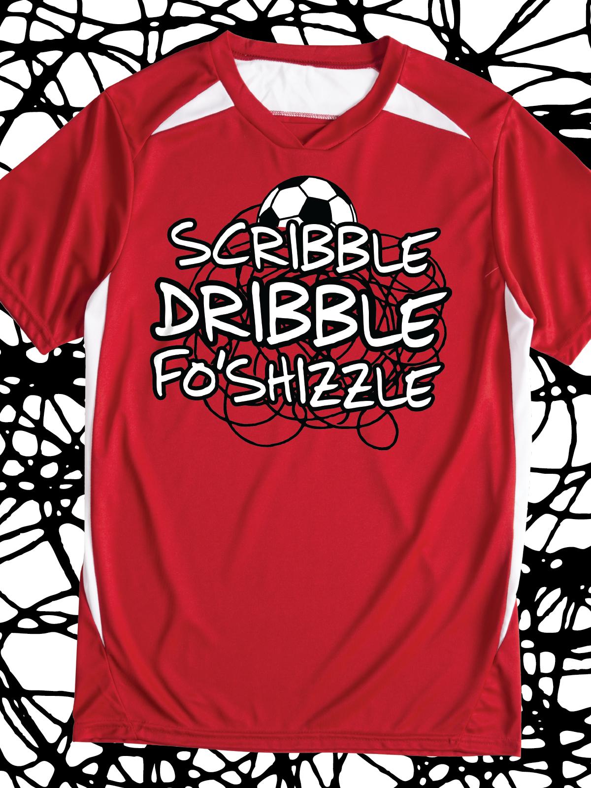 Scribble Dribble Foshizzle Funny Design Idea For Custom Soccer