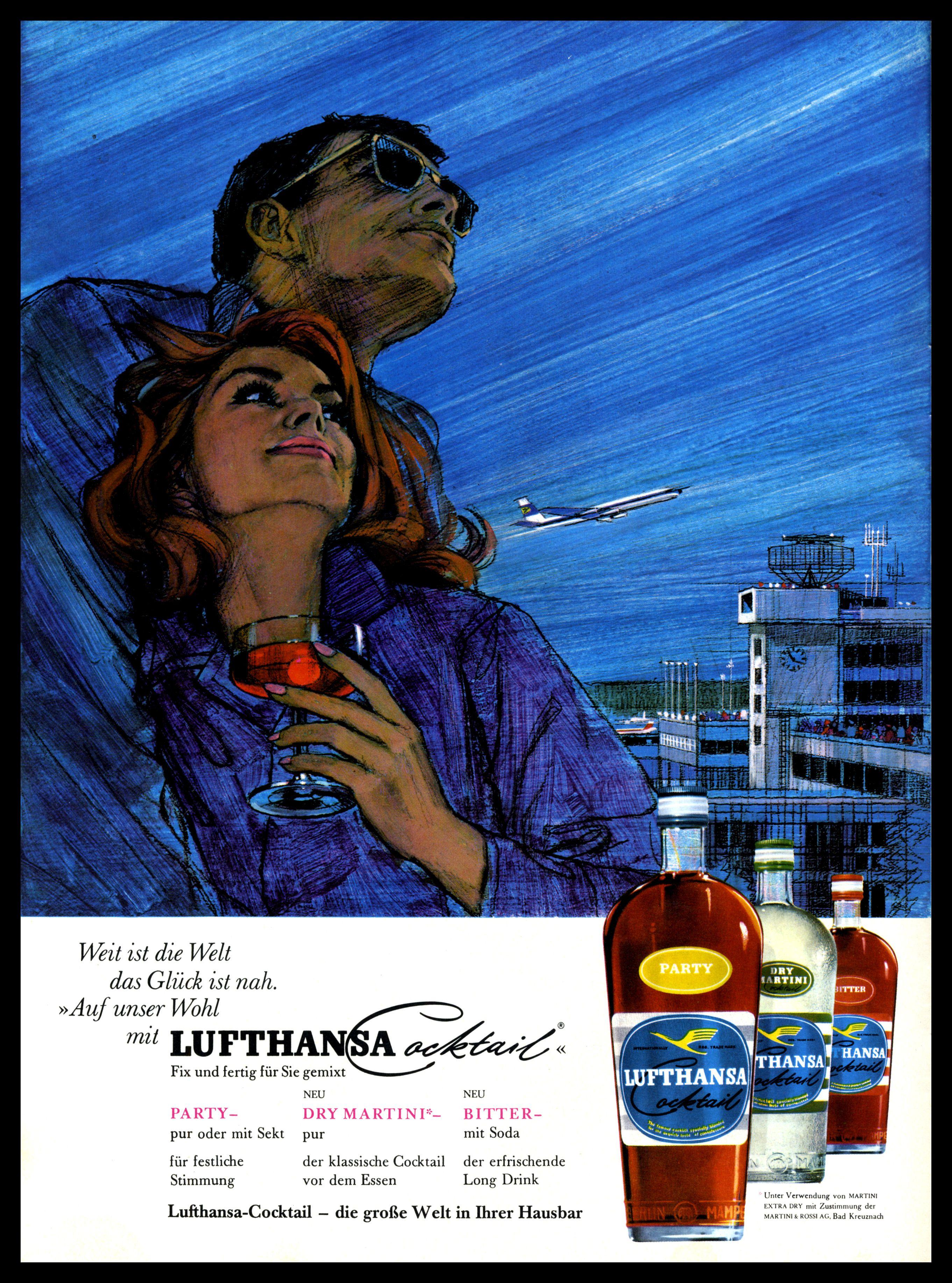 Lufthansa   Vintage Airline   Pinterest