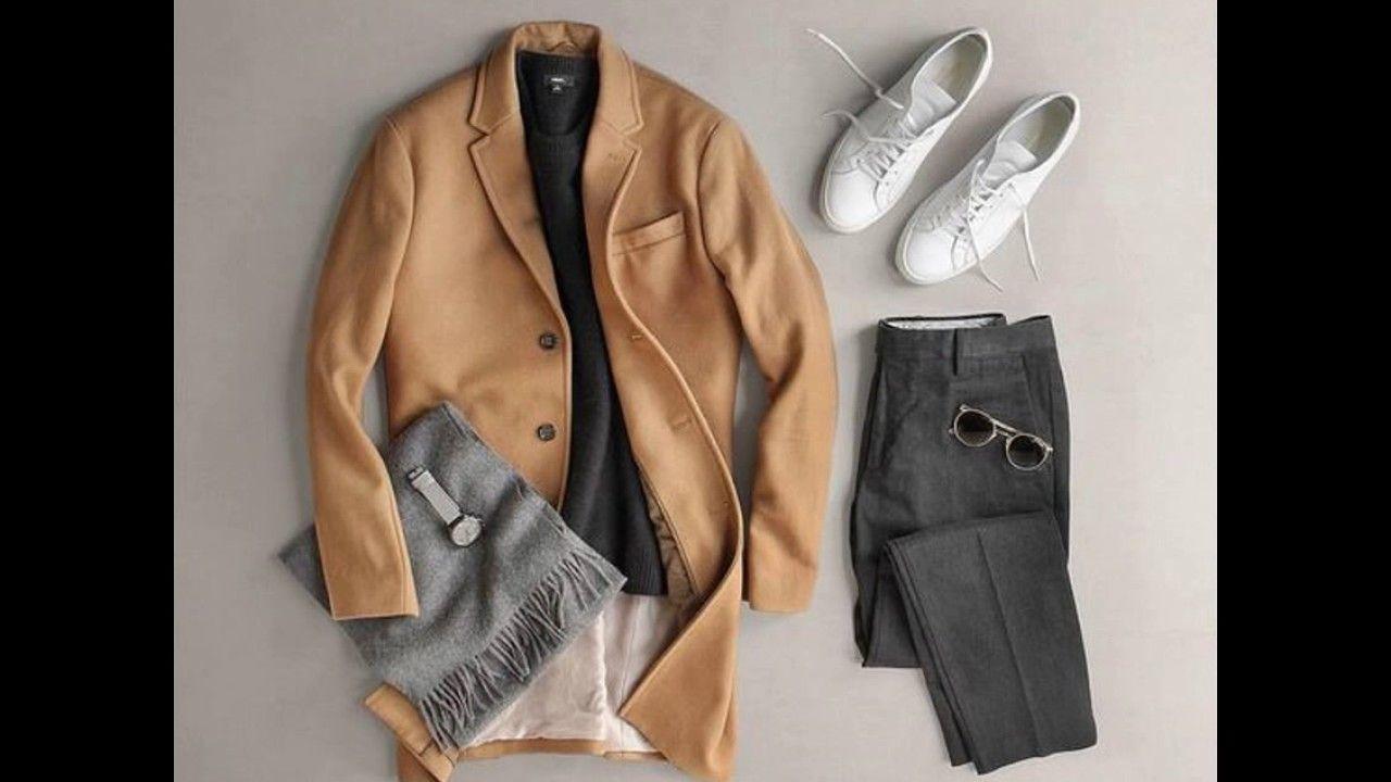 أجمل تنسيق للحذاء الأبيض الرجالي لإطلالة شبابية مميزة Mens Fashion Fashion Coat