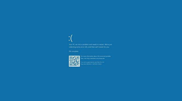 السلام عليكم ورحمة الله وبركاته متابعى موقع مشروح الاعزاء يعد ويندوز 10 واحدة من أنظمة تشغيل أكثر تقدما وأمانا ولكن كما هو الحال Blue Screen Windows 10 Bsod