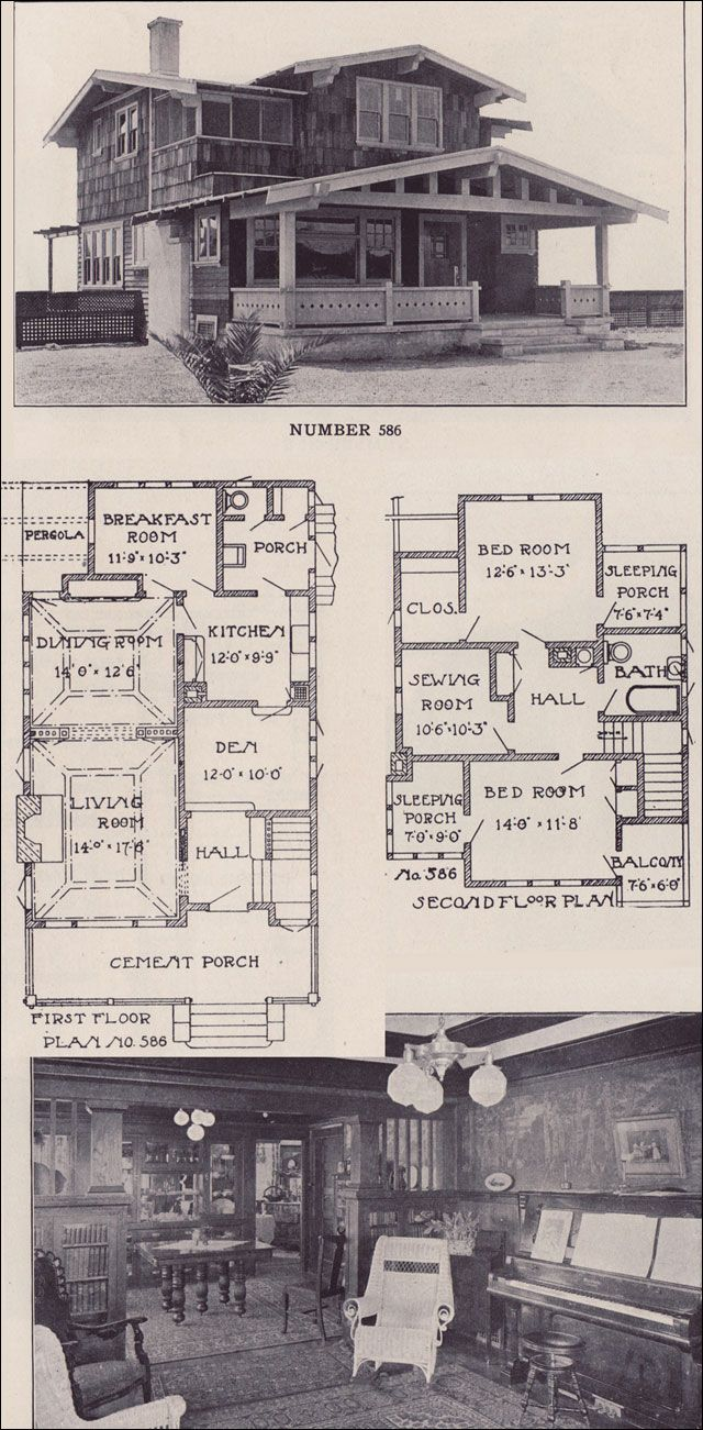 Pin By Vladimir Nagornyy On Proekt House Craftsman House Southern House Plans Vintage House Plans