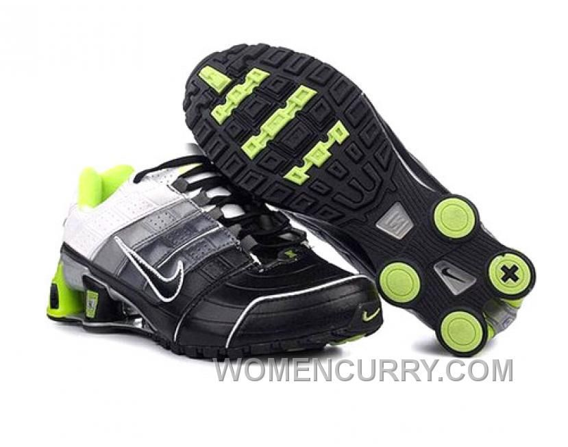on sale 92030 0c649 ... Find Men s Nike Shox NZ Shoes Black Grey Silver White Green Top Deals  online or ...