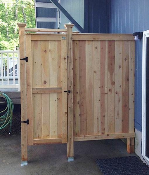 Cedar Outdoor Shower 83 Xl House Mount Outdoor Shower Kits