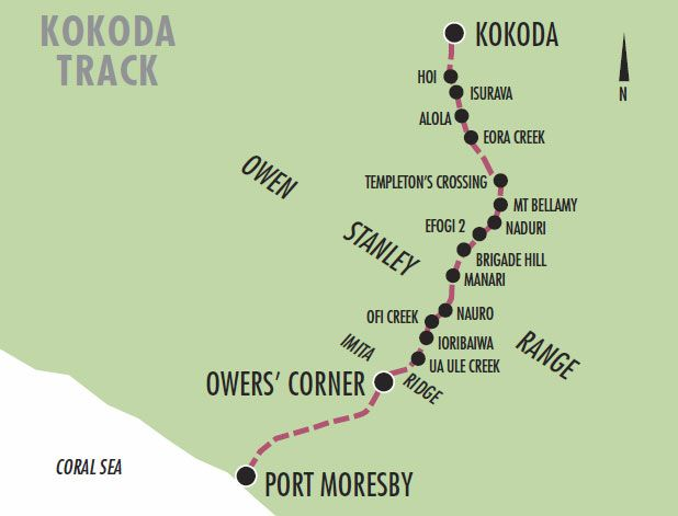 account of the battle of kokoda track Their objective was to make their way overland along the kokoda track and  capture port  explore history / australia & wwii / abroad wwii / kokoda track  campaign  despite winning some hard-fought battles, australian troops were  forced to.