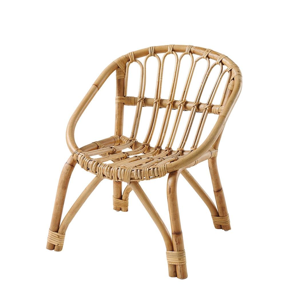 Maison Du Monde Fauteuil Rotin chaise enfant en rotin | jebat's playroom | pinterest