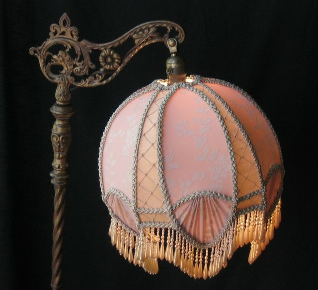 Victorian Bridge Lamp Shades | Lighting : Bridge Lamps ...