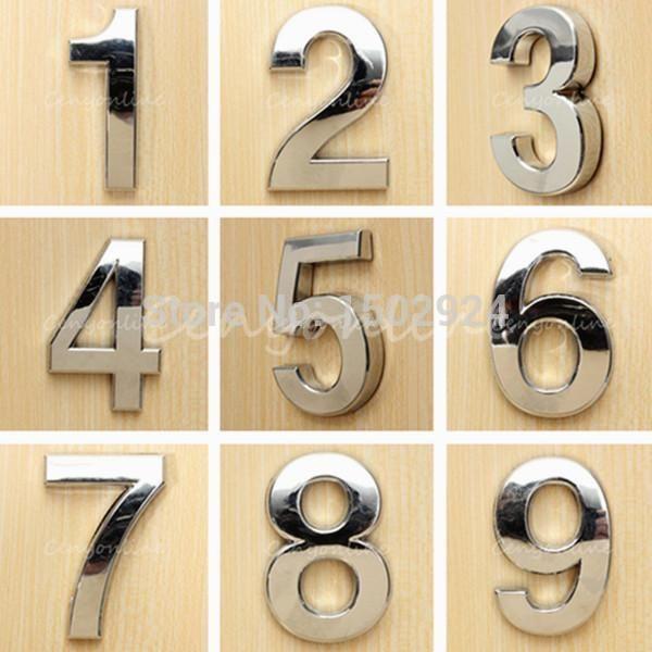 Door Number Plates, Hotel Door, Painted Doors