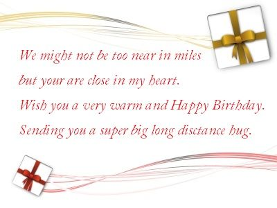 Birthday wishes for far away friend quotes pinterest happy birthday wishes for far away friend m4hsunfo Images