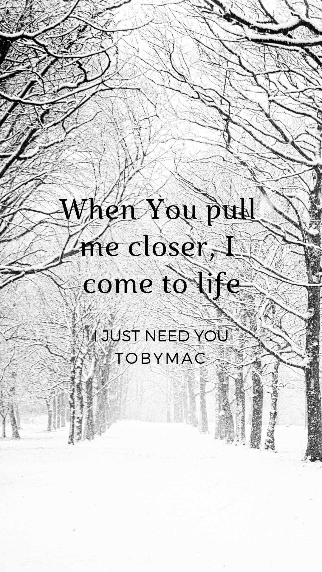 I Just Need You Tobymac Tobymac Speak Life Me Too Lyrics I Just Need You