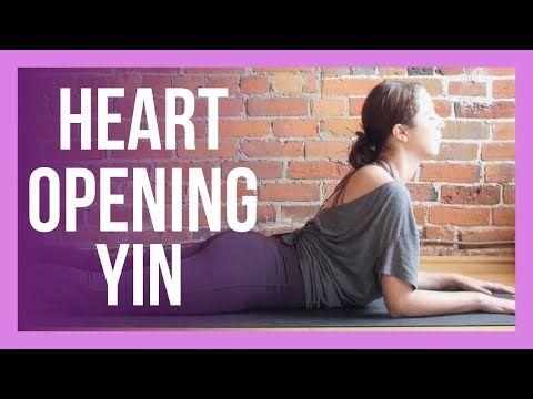 yin yoga for your heart 💗 emotional healing upper body yin