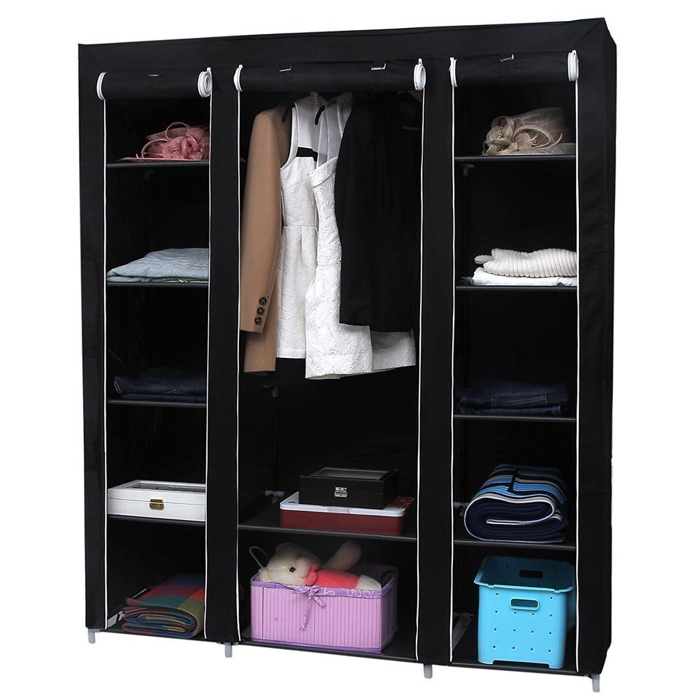Pin By Alexia On Home Organization And Storage Wardrobe Storage Portable Closet Wardrobe Closet