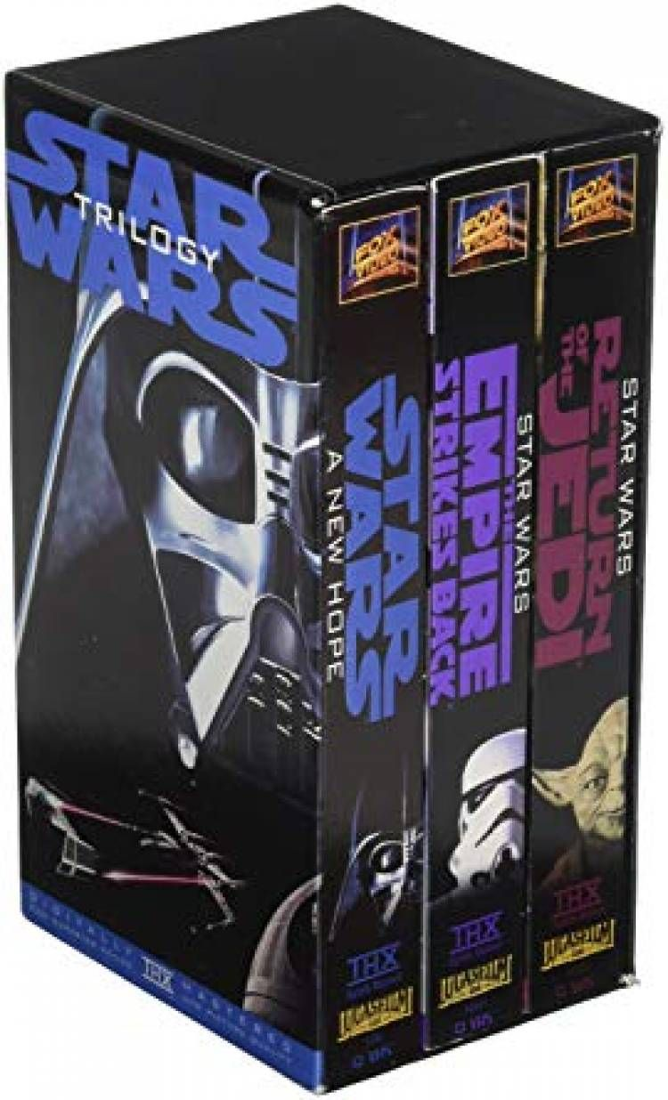 50 Most Valuable Vhs Tapes That You Could Sell For A Fortune Star Wars Trilogy Vhs Vhs Tapes