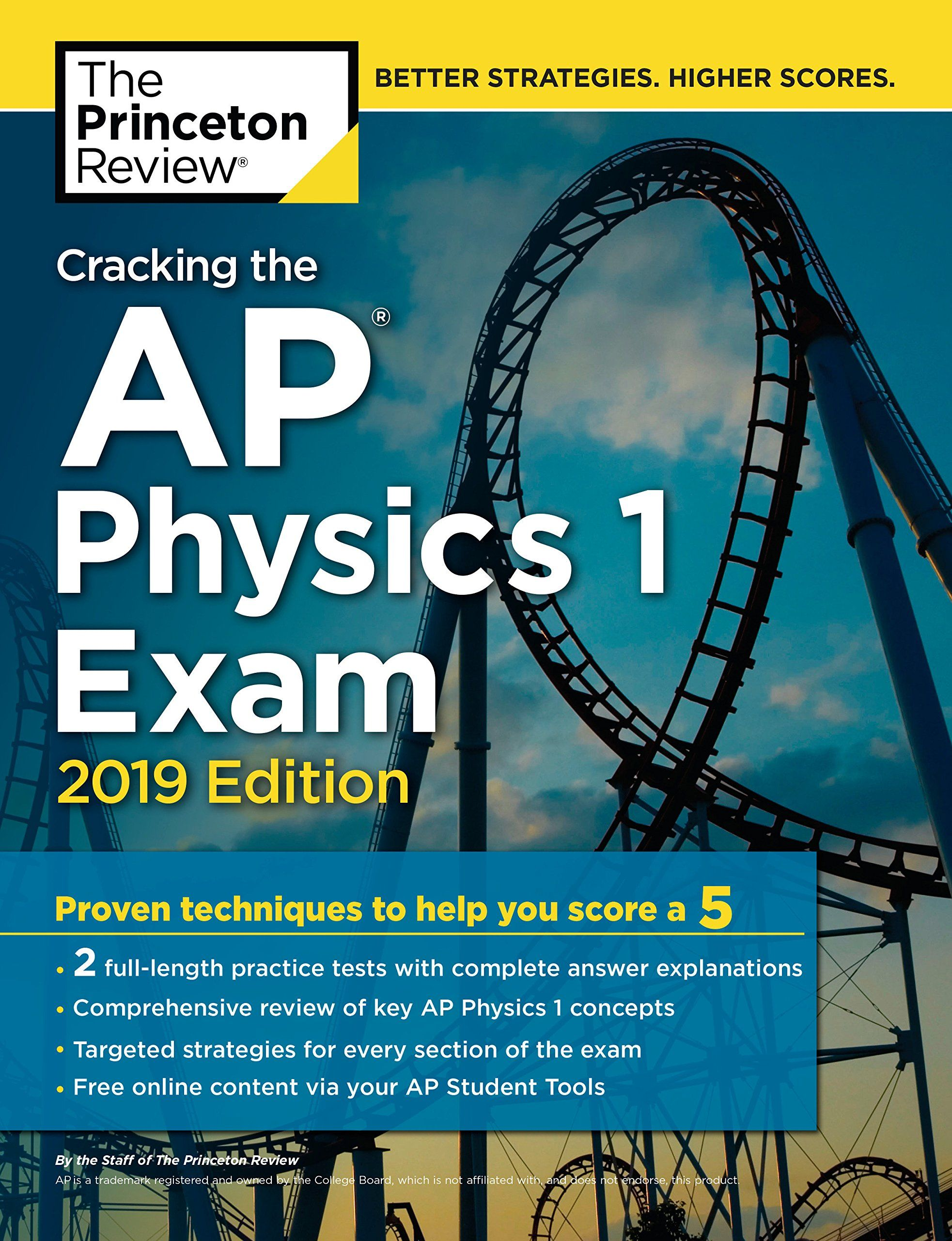 Video Cracking The Ap Physics 1 Exam 2019 Edition Practice Tests Proven Techniques To Help You Score A 5 College Test Preparation Ap Physics College Test Physics